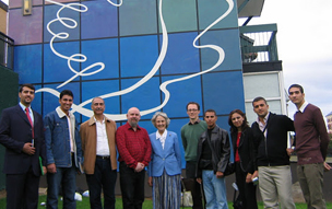 BAX Iraqi delegates visit the Bogside Artisits in Derry, Northern Ireland, 2008