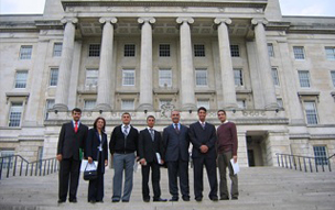 Iraqi BAX delegation invited to Stormont, Northern Ireland, 2008