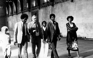 BAX Sudan visit 1984 to Westminster Hall