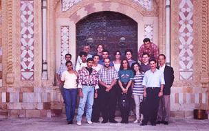 BAX visit Lebanon 1995, Beit Ed-Dine